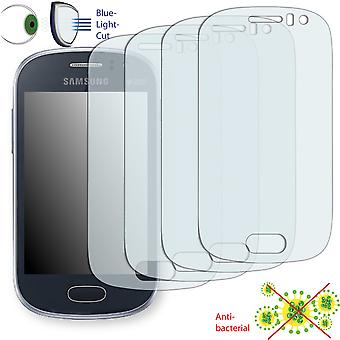 Samsung S6810P Galaxy fame display protector - Disagu ClearScreen protector