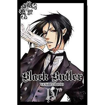 Black Butler - v. 4 von Yana Toboso - 9780316084284 Buch
