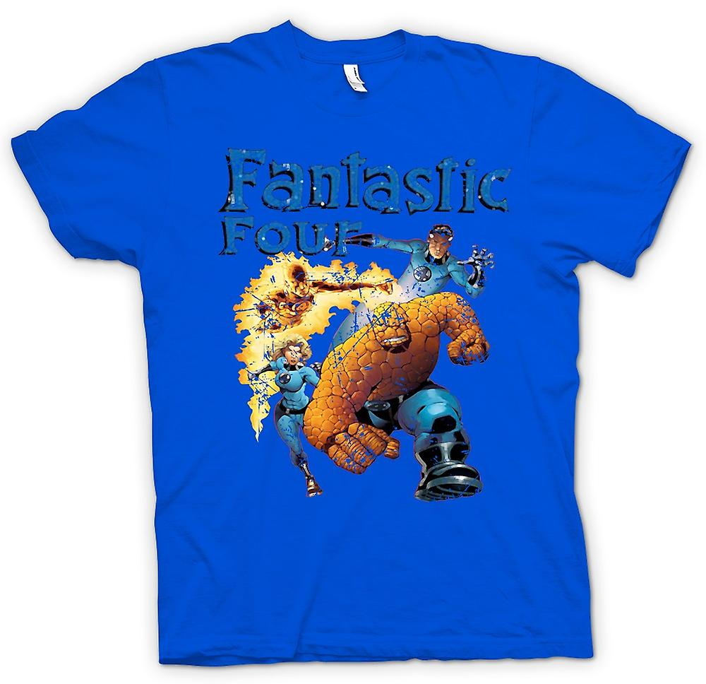 Mens T-shirt - Fantastic Four - Comic Super Hero