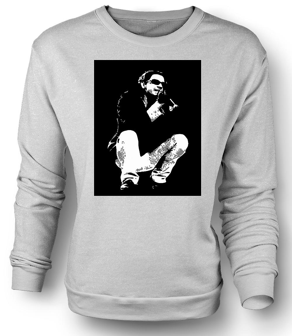 Mens Sweatshirt Michael Hutchence INXS - BW