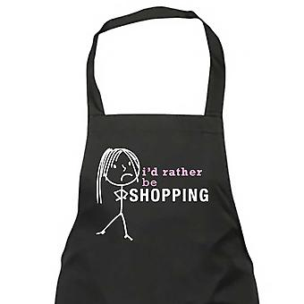 Ladies I'd Rather Be Shopping Apron