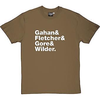 Depeche Mode Line-Up Men's T-Shirt