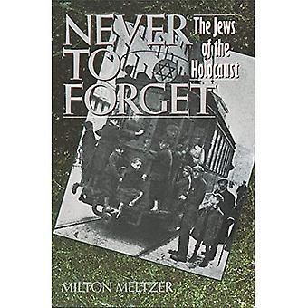 Niemals zu vergessen: die Juden den Holocaust