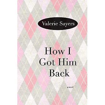 Cómo lo tengo atrás: una novela