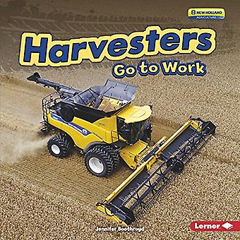 Harvesters Go to Work (Farm Machines at Work)