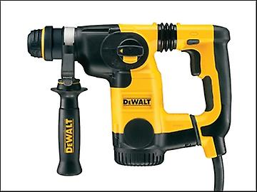 DEWALT D25323K L Shape SDS Plus 3 Mode Low Vibration Hammer 800 Watt 110 Volt