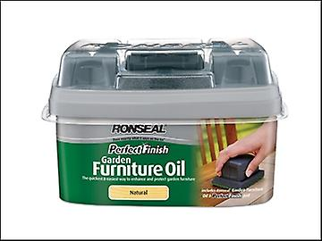 Ronseal Perfect Finish Hardwood Garden Furniture Oil Teak 750ml