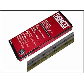 Senco Chisel Smooth Brad Nails Galvanised 15g X 32mm Pack 4,000