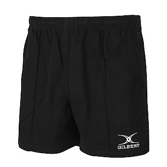 Gilbert Rugby Boys Kids Kiwi Pro Cotton Rugby Shorts