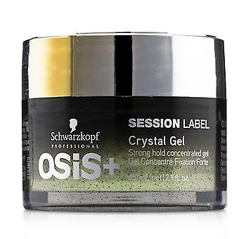 Schwarzkopf Osis+ Session Label Crystal Gel (Strong Hold Concentrated Gel) 65ml/2.1oz