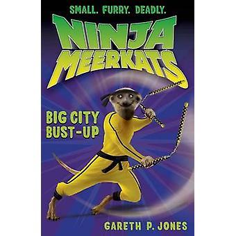 Ninja Meerkats (#6) - Big City Bust-Up by Gareth Jones - Luke Finlayso