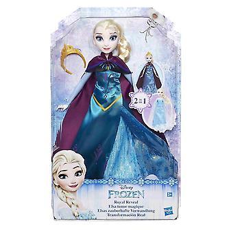 迪斯尼冷冻皇家揭示艾尔莎娃娃30厘米