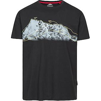 Trespass Hombres Cashing Cuello Redondo Polycotton Wicking Casual Fit Camiseta