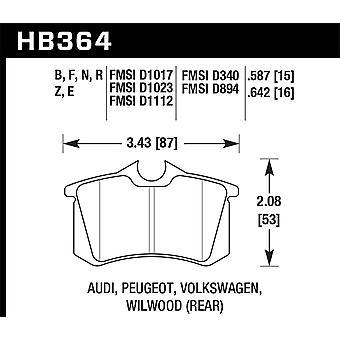 Hawk performance HB364N. 642 HP plus