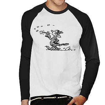 Krazy Kat vandring baseball langermet T-skjorte til Herre