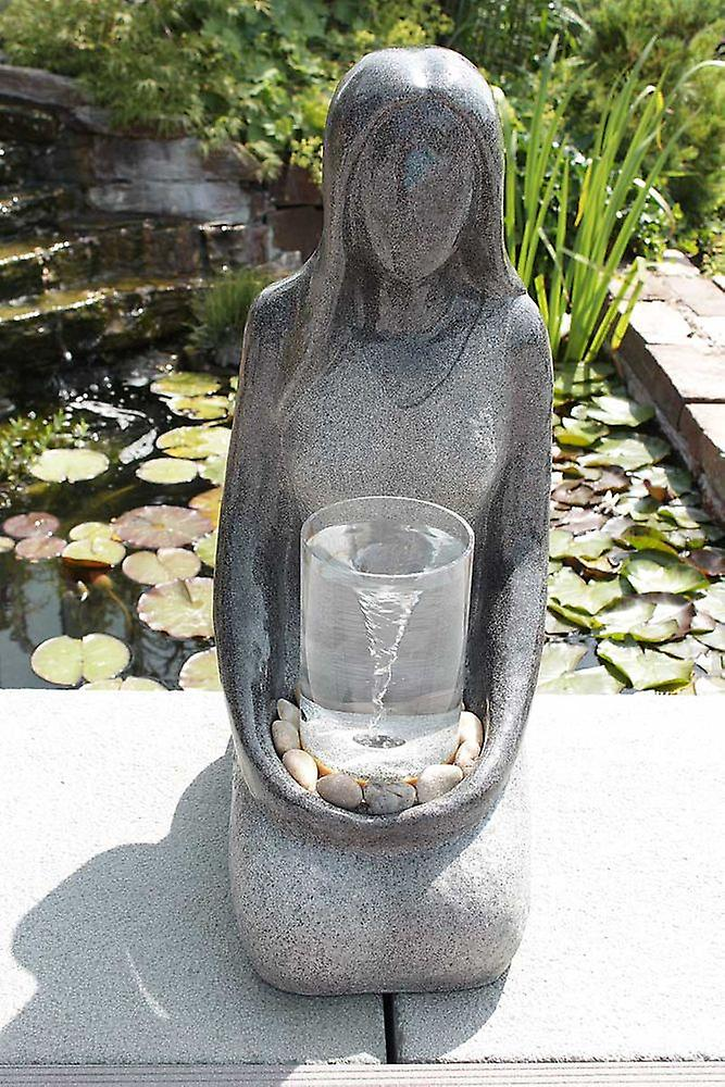 Garden fountain ornamental fountain FoDonna with water strudel effect 10897