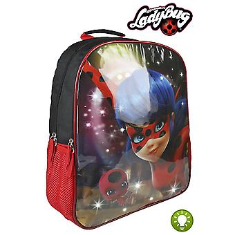 Cerda Ladybug Backpack With Lights (Babies and Children , Toys , School Zone)