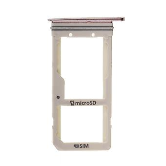 Samsung Galaxy S7 Edge - SM-G935 - SIM kortin Tray - Rose
