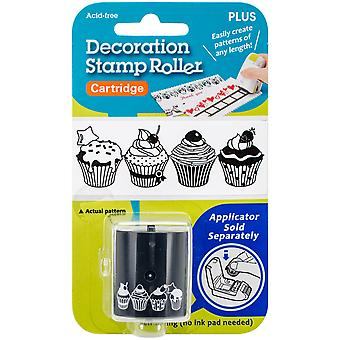 Deco Stamp Roller-Cupcakes 38DST-731