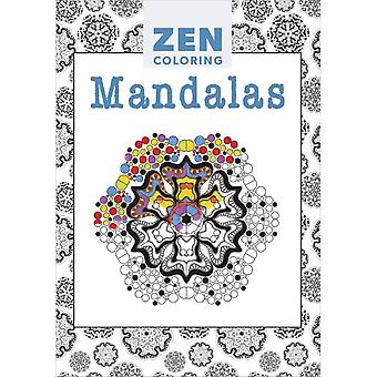 Guild Of Master Craftsman Books-Zen Coloring Mandalas GU-41154