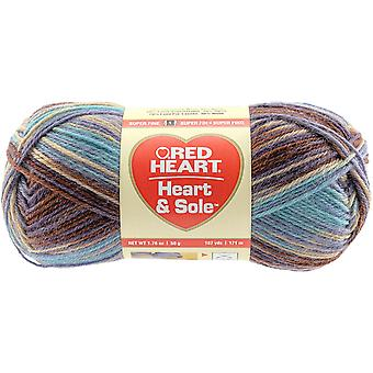 Red Heart Heart & Sole Yarn-Lakehouse E840-3935
