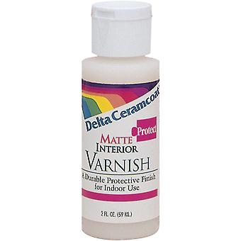 Ceramcoat Protect Interior Varnish 2 Ounces Matte 7008 2
