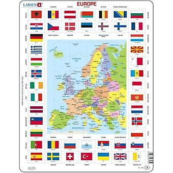 Larsen Map/flag - Europe (children, toys, board games, Puzzles)