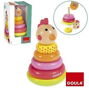 Goula stackable Gallina (Toys , Preschool , Babies , Stackable Toys)
