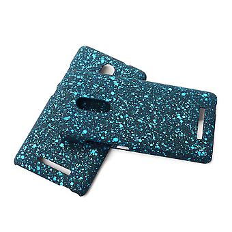 Cell phone cover case bumper shell for Xiaomi Redmi note 3 3D star turquoise