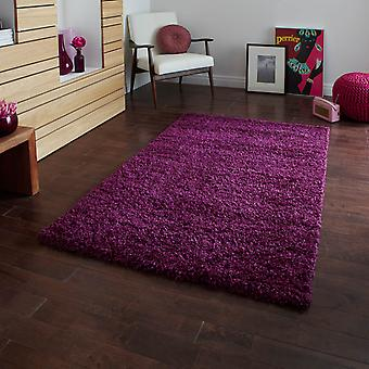 Vista Shaggy Rugs 2236 Purple
