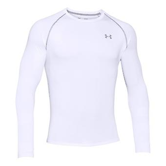 Under Armour men's tech long sleeve white 1264088-100