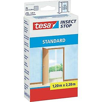 Fly screen tesa Insect Stop Standard (L x W) 2200 mm x 1300 mm White 1 pc(s)