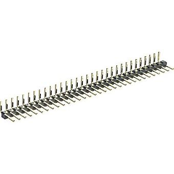 MPE Garry 332-1-010-0-F-XS0-0700 Angled Terminal Strip Number of pins: 1 x 10 Nominal current (details): 1.5 A