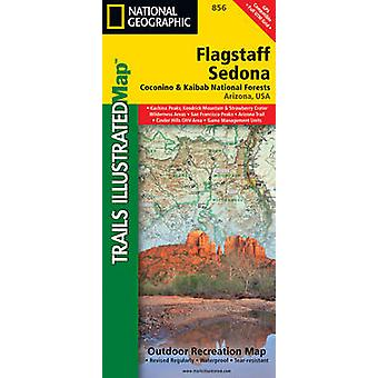 FlagstaffSedona Coconino  Kaibab National Forests by National Geographic Maps