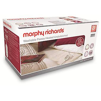 Morphy Richards 600004 rey doble forro lavable colchoneta