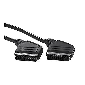 EXXTER Cable Scart 3 m Black