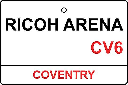 Coventry / Ricoh Arena Street Sign Car Air Freshener