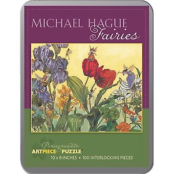 Michael Hague - Fairies: 100 Piece Puzzle (Hardcover)