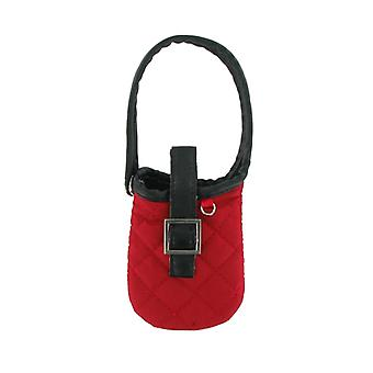 Xentris Universal Slim Fashion Purse Phone Pouch (Red)