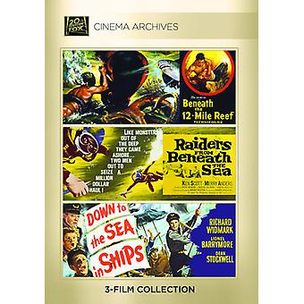 Beneath the 12-Mile Reef / Raiders From Beneath [DVD] USA import