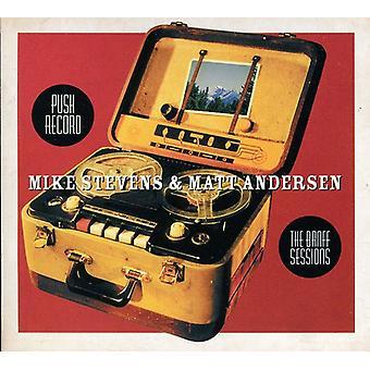 Mike Stevens & Matt Andersen - Push post-the Banff sessioner [CD] USA import
