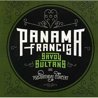 Panama Francis - Panama Francis & Savoy sultanernes-75 års fødselsdag [CD] USA importen