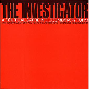 Investigator: A Political Satire in Documentary Fo - Investigator: A Political Satire in Documentary Fo [CD] USA import