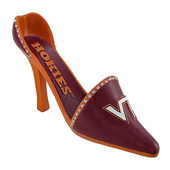NCAA Virginia Tech Hokies высокой пятки обуви бутылка вина держатель