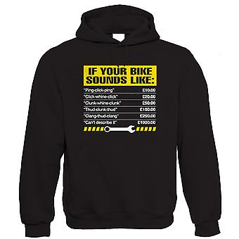 If Your Bike Sounds Like Mens Funny Hoodie (S to 5XL)