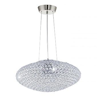 Eglo CLEMENTE Crystal Oval Ceiling Light Pendant