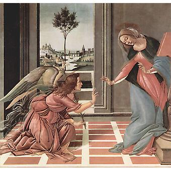 Sandro Botticelli - Communication Poster Print Giclee
