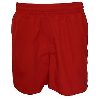 Polo Ralph Lauren Hawaiian Zwemmen Shorts, Royal Red