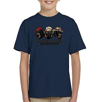 Gorilla Warfare Kid's T-Shirt