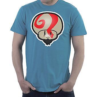 Super Mario Mushroom Kratos God of War Men's T-Shirt